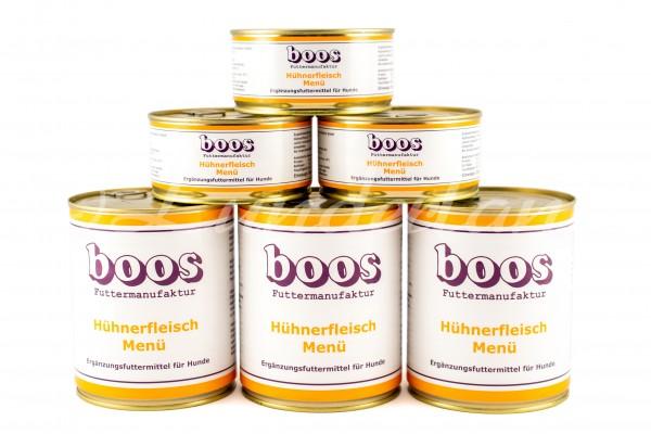 Boos-Hühnerfleisch-Menü (800g ausverkauft)