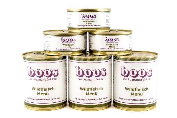 Boos-Wild-Menü - 300g derzeit leider ausverkauft
